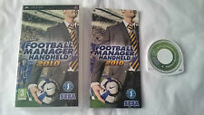 JUEGO COMPLETO FOOTBALL MANAGER HANHELD 2010 SONY PSP PAL UK INGLES.