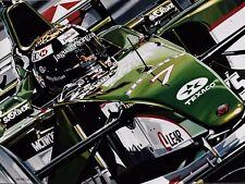 Eddie Irvine 90 x 70 cms limited edition F1 art print by Colin Carter