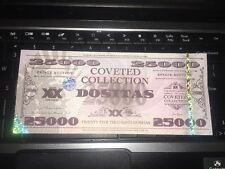 Dos Equis Dositas Money Set of 4 $25,000 bills Coveted Collection Currency