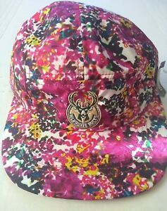 Milwaukee Bucks Women's Adidas Print Cap