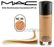 MAC MATCHMASTER FOUNDATION SPF15 35ML / 1.2 Fl Oz - NC 40 NEW IN BOX