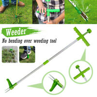 Weed Puller Weeder Twister Twist Pull Garden Lawn Root Killer Remover Tools