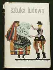 BOOK Polish Folk Art naive sculpture embroidery costume painting POLAND history