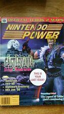 Nintendo Power Video Game Magazine N64 Castlevania Turok 2 free ODT poster