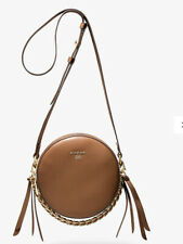 Michael Kors Delancey Leather  Crossbody Bag