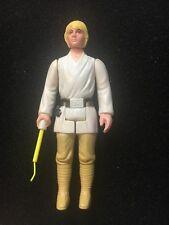 ORIGINAL VINTAGE 1977 STAR WARS FIGURINE LUKE SKYWALKER FARMBOY -SABER HAS TAB