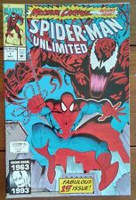 SPIDER-MAN UNLIMITED 1, MAXIMUM CARNAGE PART ONE, MARVEL COMICS, MAY 1993, VF