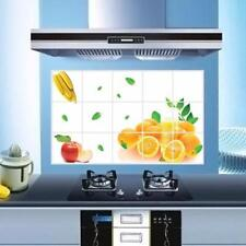Waterproof Oranges Kitchen Oil-proof Removable Wall Stickers Art Decor 3023