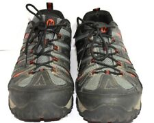 MERRELL CONTINUUM SELECT GRIP GREY LACE UP HIKING SHOE SIZE 11.5 IN EUC