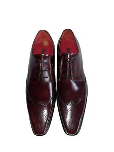 JEFFREY WEST LUXURY MENS BROGUES 100% LEATHER FORMAL CLASSIC LEATHER SOLE UK 11