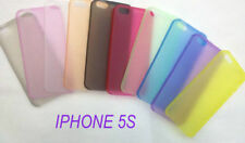 NEW - BLACK - iPhone 5 & 5s cover case protection BRAND NEW