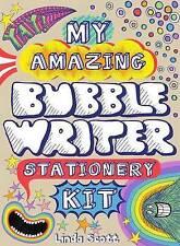 NEW My Amazing Bubble Writer Stationery Kit by Linda Scott