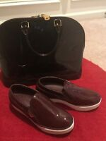EUC Louis Vuitton Amarante Slip-On CATWALK Sneakers Boat Shoe 36.5/6.5 Worn Once