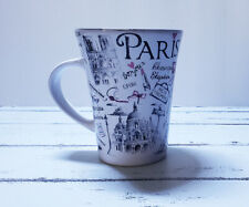 """Romantik"" Paris Landmarks Themed Coffee Cup 6 oz *Euc*"