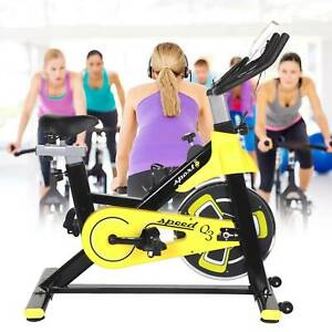 Adjustable Bike Indoor Exercise Bike Gym Training Cycle Home Fitness Workout