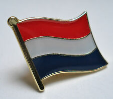 Netherlands ( Holland )Flag Lapel Pin Badge Superior High Quality Gloss Enamel