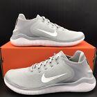 NIB Nike FREE RN 2018 Men's Running Shoe 942836 003 Wolf Grey/White Multi Size