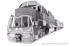 Metal Earth Freight Train Set 3D Metal Model kit/Fascinations Inc