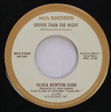 Pop 45 Olivia Newton-John - Deeper Than The Night / Please Dont Keep Me Waiting