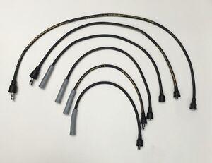 Spider 124 128 R12 R17 1.6L 1.8L 2.0L Suppressor 8 mm Spark Plug Wire Set 39860