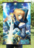 Fate Stay Night Saber Cool Sword Poster Wall Murals Scroll Painting  40*60CM