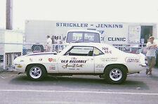 Dave Strickler 1968-1969 Camaro Drag Car 1/25th model car decal