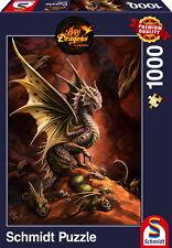 1000 Teile Schmidt Spiele Puzzle Drache der Wüste 58309