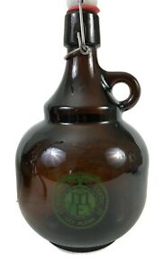 MOTHER EARTH BREWING Co 2 Liter SWING TOP Glass GROWLER San Diego BEER Bottle