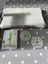 OFFICIAL NINTENDO WII FIT BOARD WITH WII FIT AND WII FIT PLUS GAMES