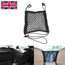 Vehicle Car Seat Elastic Mesh Net Accessories Storage Pocket Bag Holder Black UK