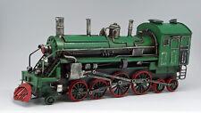 Blechspielzeug Japan Vintage Litho Blech Spielzeug Lokomotive 1501 zum Aufziehen Mit OVP.