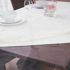 Inhabit Fitted Table Protector by Ladelle | Brown | 107x214cm Rec | Waterproof