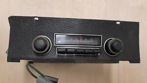1970 mopar chrysler b-body radio and bezel