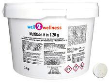 Kleine Chlor Multitabs 5in1 20g / Chlortabletten 5 in1 Chlortabs 20g - 3,0 kg