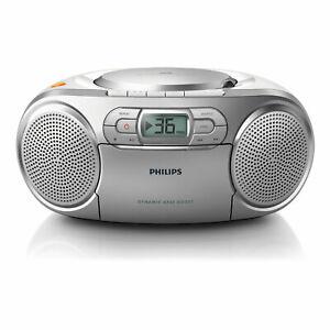 Philips AZ 127/12 Radiorekorder CD-Player Kassettendeck UKW-Tuner Bass Boost