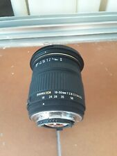 Sigma 18-50 F2,8 EX DC-Nikon