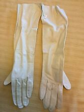 Vintage Careskin By Superb Long Ivory 14 Inch Opera Gloves Nwt Size 6 1/2