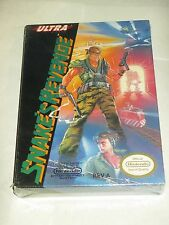 Snake's Revenge (Nintendo NES) Metal Gear NEW Factory Sealed