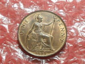 1899 Victoria Old Head penny.