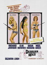 DEADLIER THAN THE MALE 1967 Richard Johnson, Elke Somme Sylva Koscina ALL R DVD