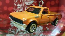 DATSUN 620 PICKUP ~ ORANGE~  Custom Christmas Tree Ornament Decoration