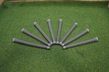 Golf Pride TaylorMade 360 Round Tour Velvet Black Grey 58R 8-Pack Grip Set