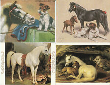 HORSE and PONY ART MAJOR ARTIST - 20 POSTCARD - LIMITED QUANTITY REMAINING