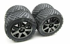 TROPHY Truggy TIRES & Wheels 1/8 17mm hex tyres (HPI flux 107018