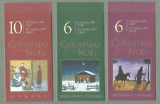 Seasonal, Christmas Decimal North American Stamps