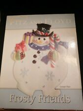 Fitz And Floyd Frosty Friend Canape Tidbit Tray 2005 in original box