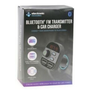 bluetooth® fm transmitter & car charger