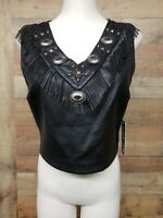 Design Lab Lord & Taylor T7004 Black/Noir Jacket Women's Shirt Size: L NWT