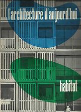 L'ARCHITECTURE D'AUJOURD'HUI _ RIVISTA n 87 _ 1959 - 1960 _ ARCHITETTURA_HABITAT