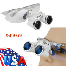 Optical Dental Dentist Surgical Binocular Magnifier Loupesglasses 35x 420mm